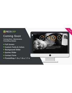 Coming Soon / Maintenance - PrestaShop Module