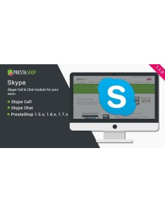 Skype Call and Chat - PrestaShop Module