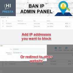 Ban IP - Block Users & View Location / Address Based on IP