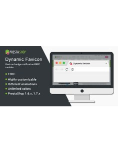 Dynamic Favicon (badge notification)