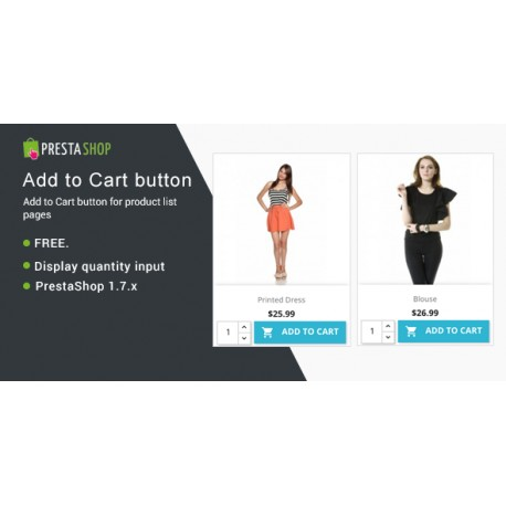 Display Add To Cart Button In Product List Pages - Module