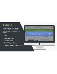 Facebook Login / registration - Module