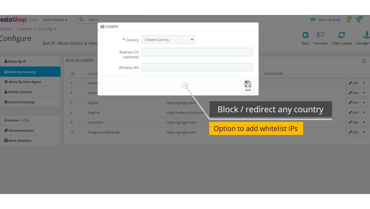 Ban IP - Block Users & View Location...