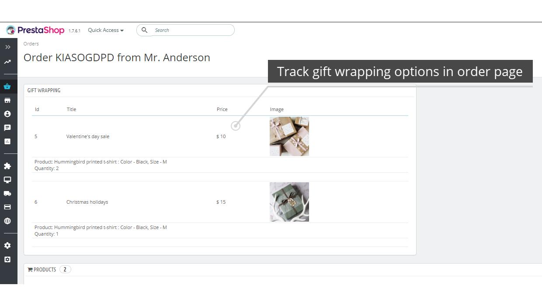 Advanced Gift Wrapping  PrestaShop...