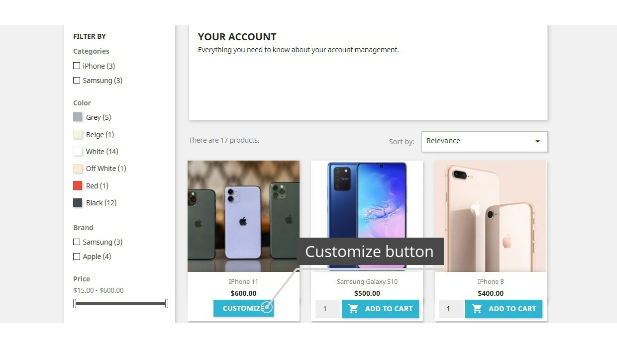 Display Add To Cart Button Pro Module