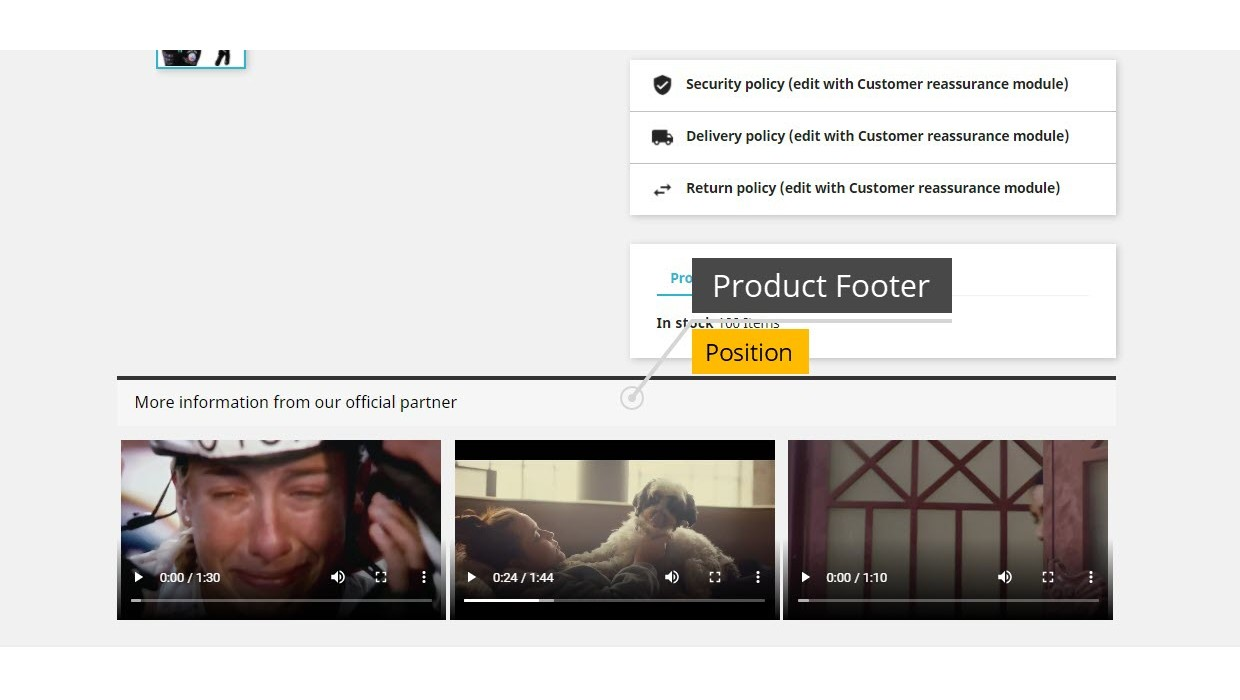 Product Videos - Upload Videos for...
